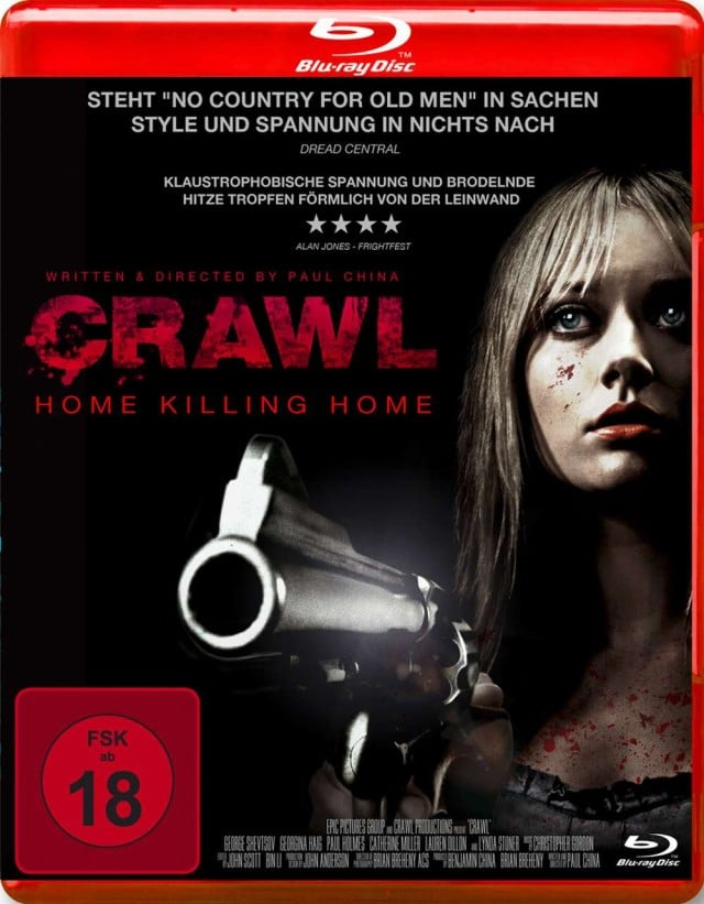 Crawl - Home Killing Home - Blu-ray Cover FSK 18