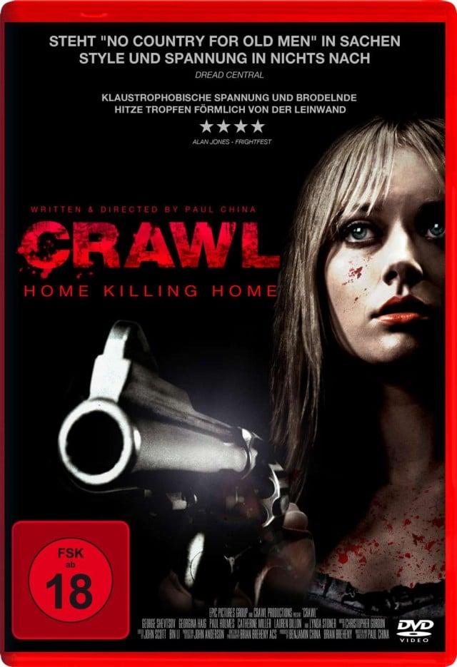 Crawl - Home Killing Home - DVD Cover FSK 18