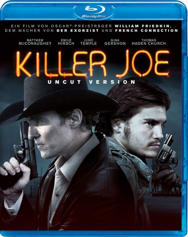 Killer Joe SPIO JK Uncut Version Blu-ray Cover