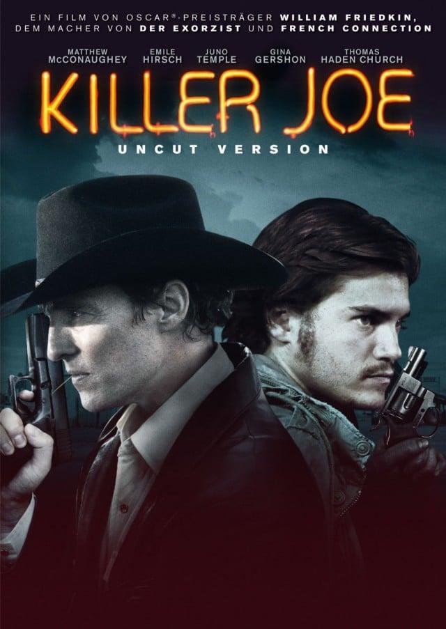 Killer Joe SPIO JK Uncut Version DVD Cover