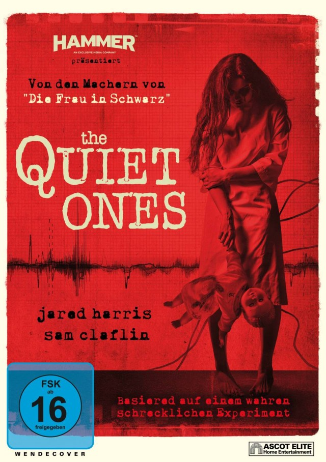 The Quiet Ones - DVD Cover FSK 16