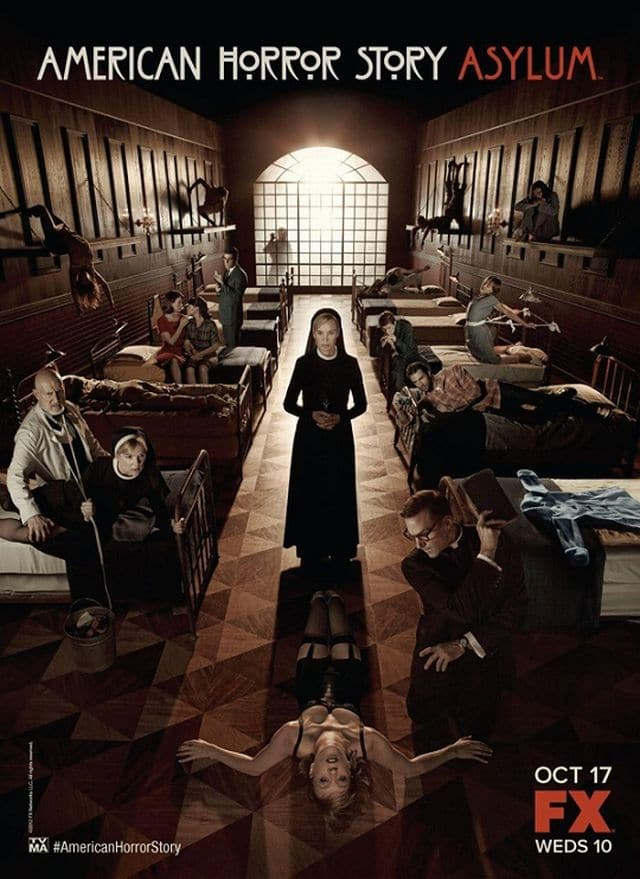 American Horror Story Asylum Teaser Poster