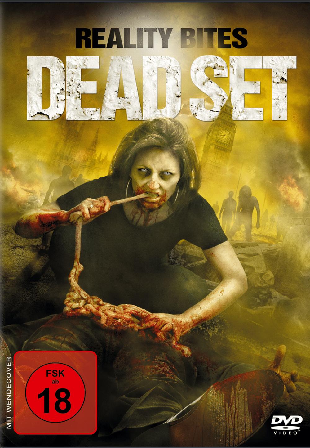 Dead Set FSK 18 Cover DVD - Scary-Movies.de Pacific Rim Cover
