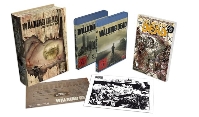The Walking Dead - Limited Comic Box
