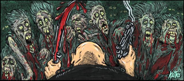 The Ragnarok Rising Saga: Zombies in Buchform nach D.A. Roberts