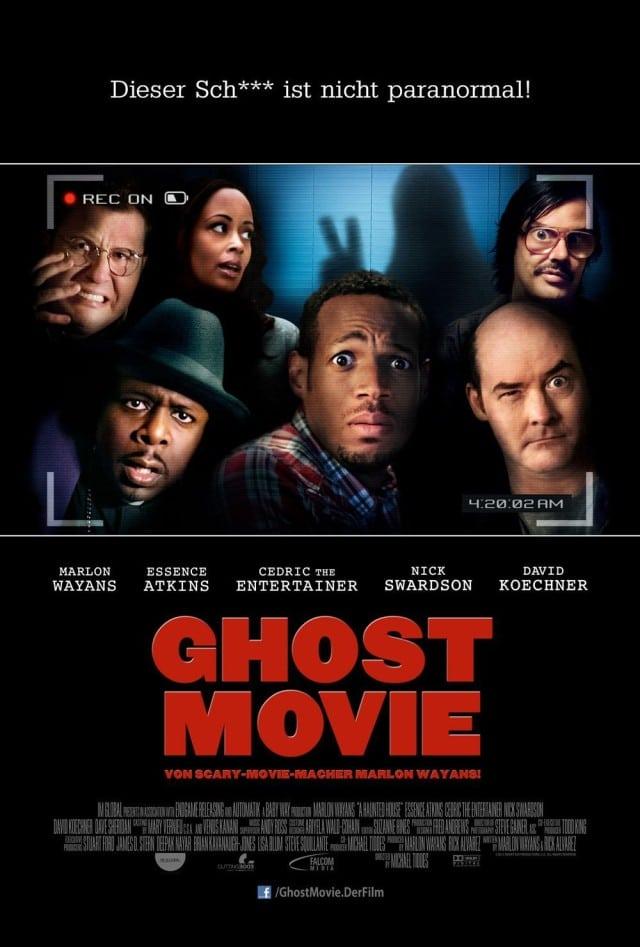 Ghost Movie - Deutscher Kinostart Poster