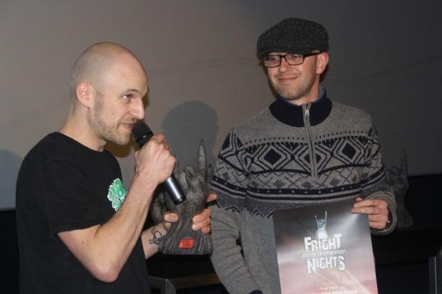 """Die Macher von """"Zombies From Outer Space"""" mit dem Trash-Award"""
