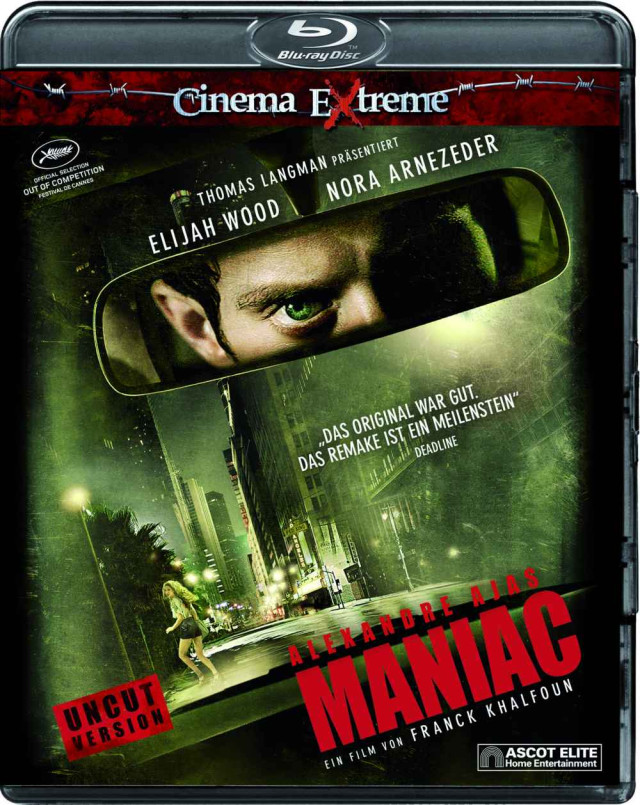 Maniac - Blu-ray Cinema Extreme Cover (Uncut Version)