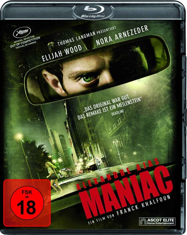 Maniac - Blu-ray FSK 18 Cover