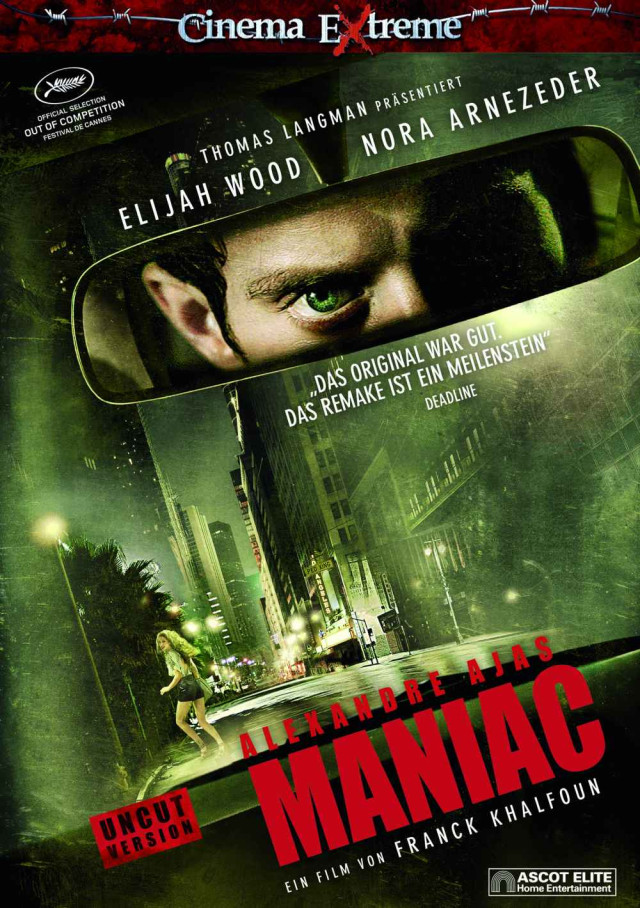 Maniac - DVD Cinema Extreme Cover (Uncut Version)