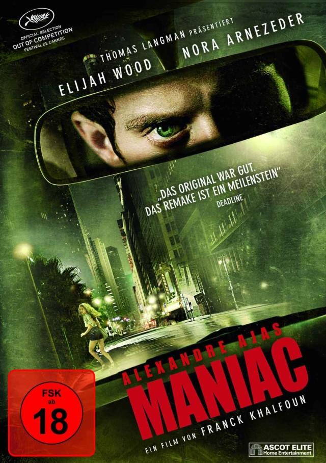 Maniac - DVD FSK 18 Cover
