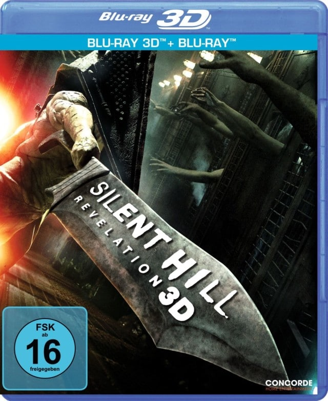 Silent Hill - Revelation - 3D Blu-ray Cover