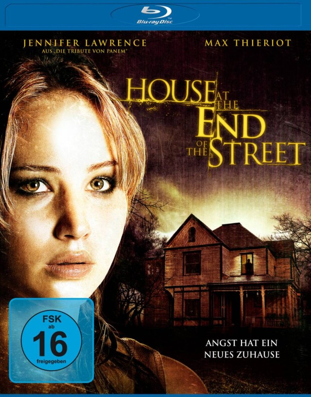House at the End of the Street - FSK 16 Blu-ray Cover