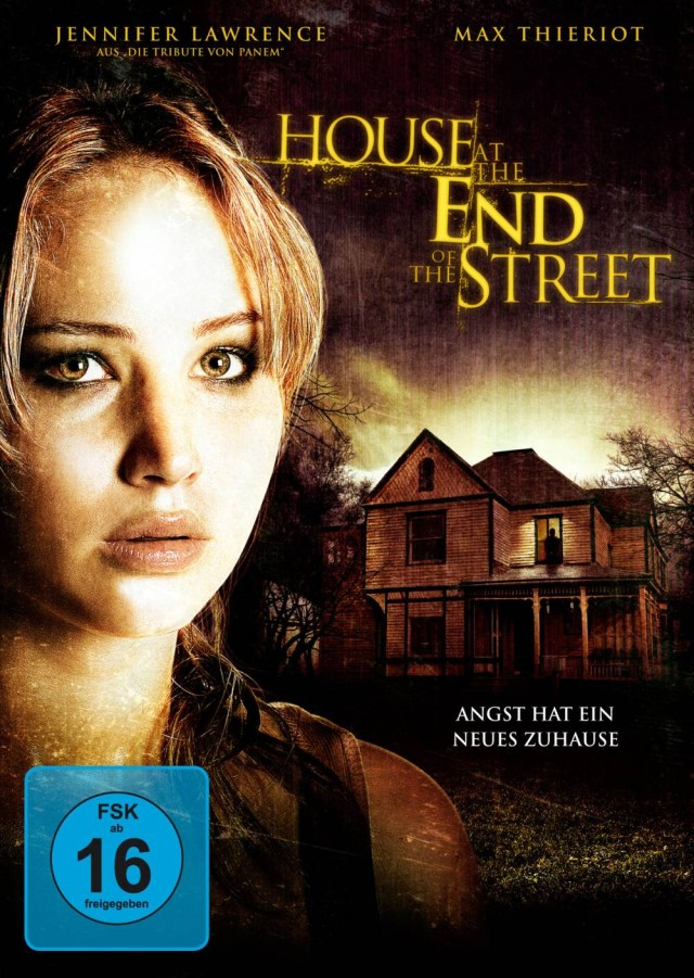 House at the End of the Street - FSK 16 DVD Cover