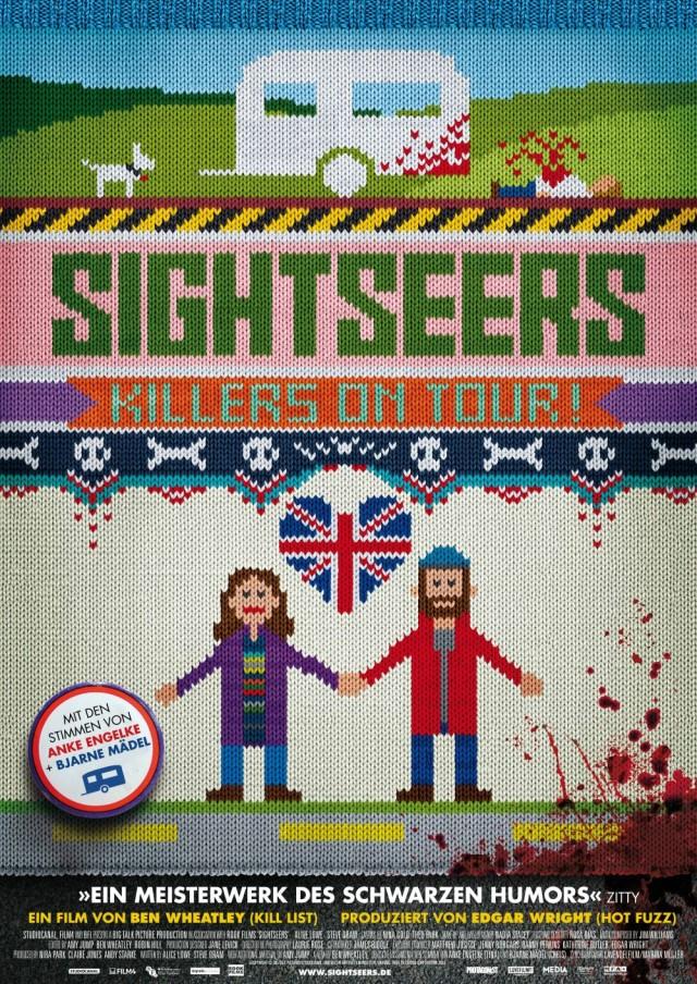 Sightseers - Deutscher Kinoposter 2