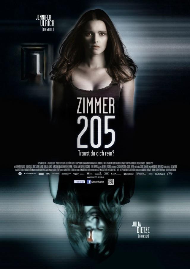 Zimmer 205 - Traust du dich rein - Deutsches Kinoplakat