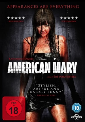 American Mary - DVD Cover FSK 18