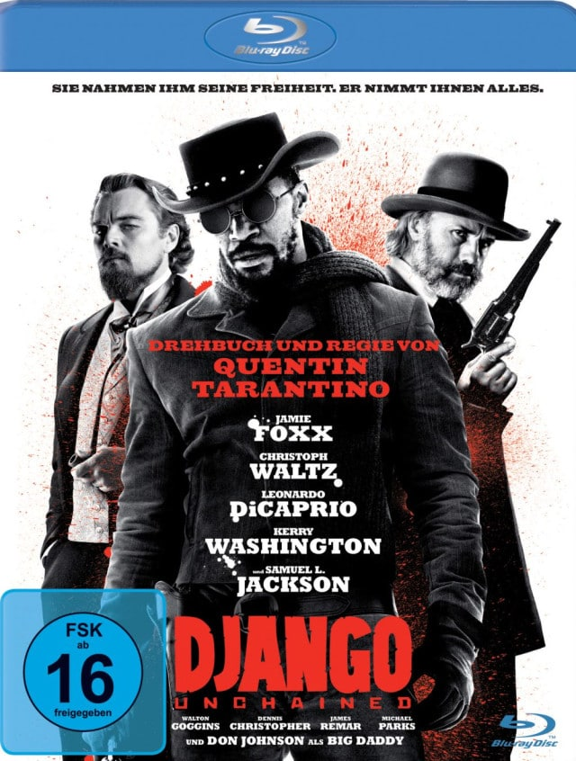 Django Unchained - Blu-ray Cover FSK 16