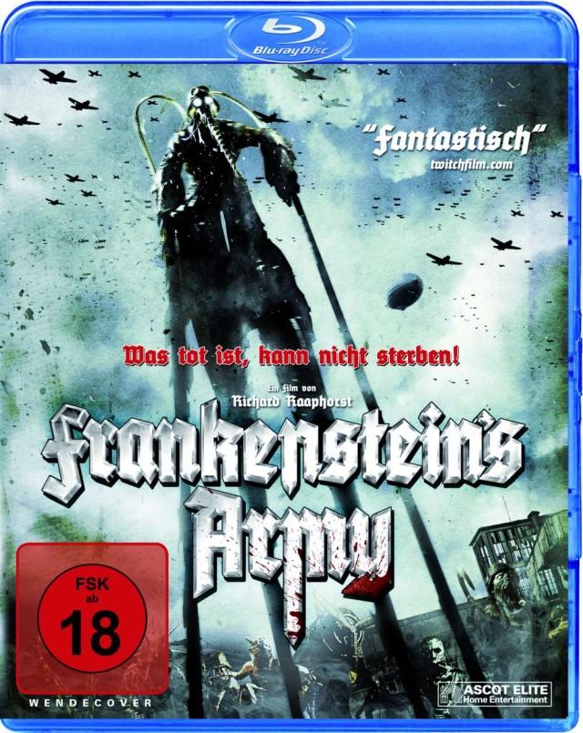 Frankensteins Army - Was tot ist, kann nicht sterben - Blu-ray Cover FSK 18 Uncut