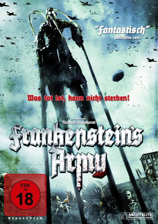 Frankensteins Army - Was tot ist, kann nicht sterben - DVD Cover FSK 18 Uncut