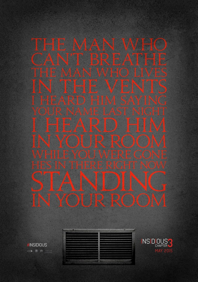 Insidious 3 - Teaser Poster 1