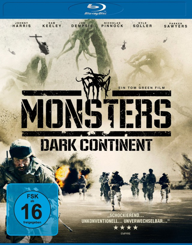 Monsters 2 - Dark Continent - Blu-ray Cover FSK 16