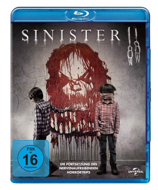 Sinister 2 - Blu-ray Cover