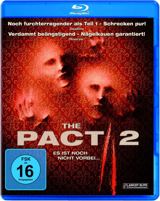 The Pact 2 - Blu-ray Cover FSK 16
