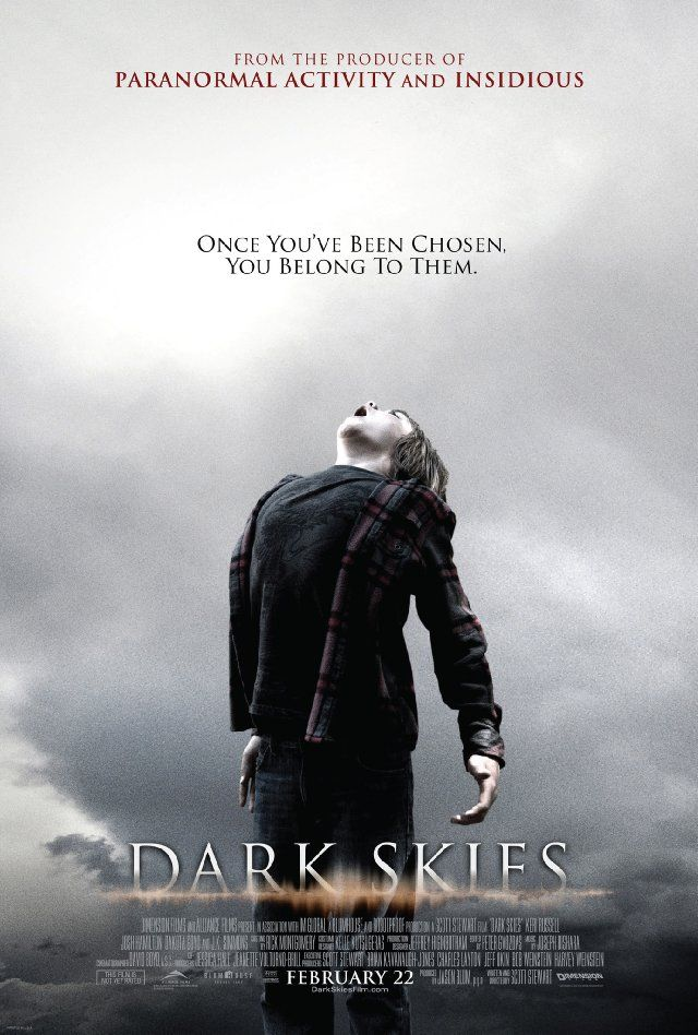 Dark Skies - US Kinoposter