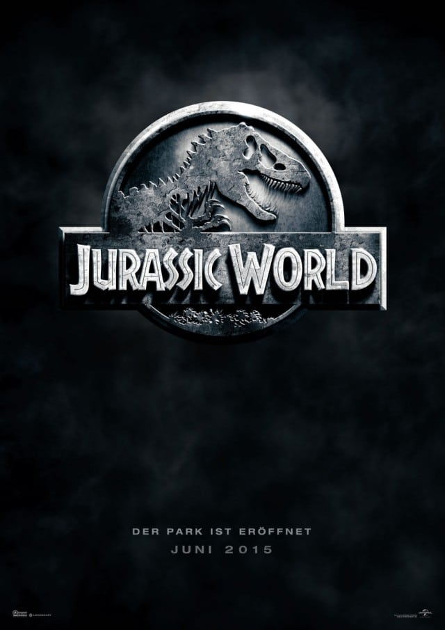 Jurassic World 3D Deutsches Teaser Kinoposter