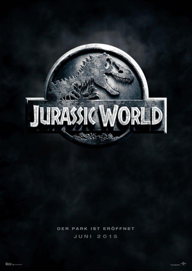 Jurassic World 3D Deutsches Teaser Kinoposter