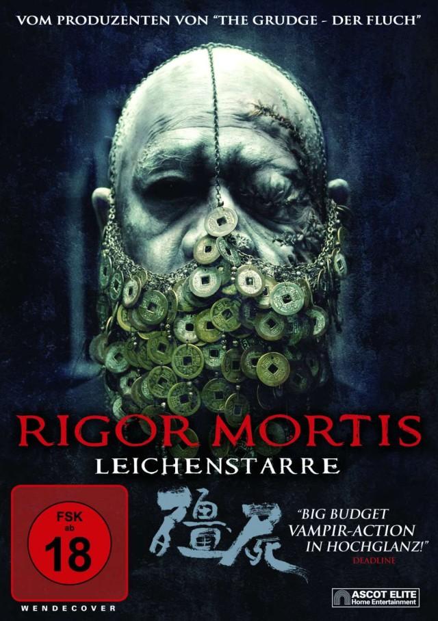 Rigor Mortis - Leichenstarre - DVD Cover FSK 18