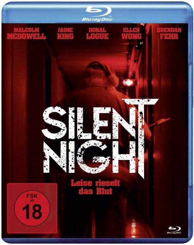 Silent Night - Leise Rieselt das Blut - Blu-ray Cover FSK 18