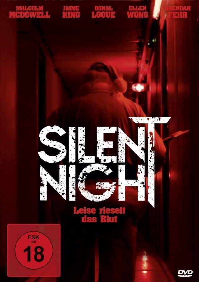 Silent Night - Leise Rieselt das Blut - DVD Cover FSK 18