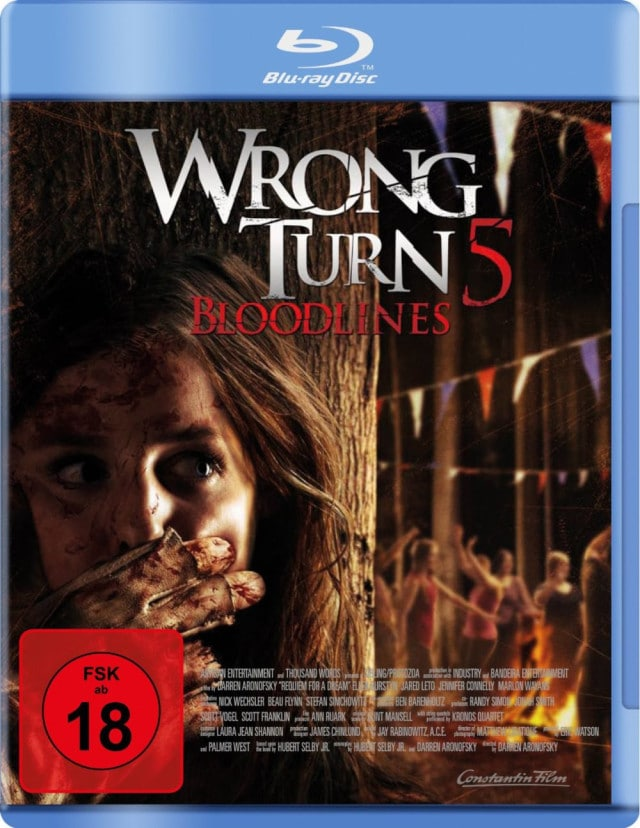 Wrong Turn 5 - Deutsches FSK 18 Blu-ray Cover