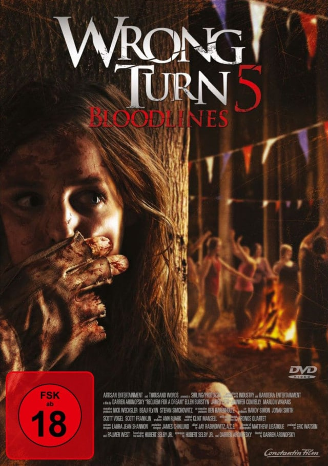Wrong Turn 5 - Deutsches FSK 18 DVD Cover