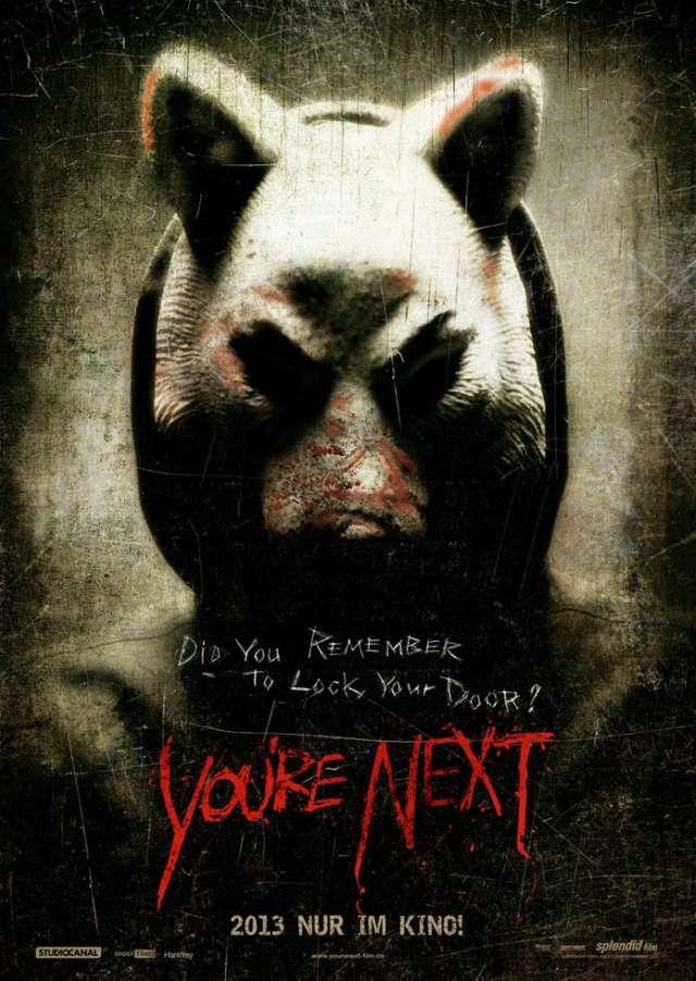 You're Next - Deutscher Kinostart - Teaser Poster 2
