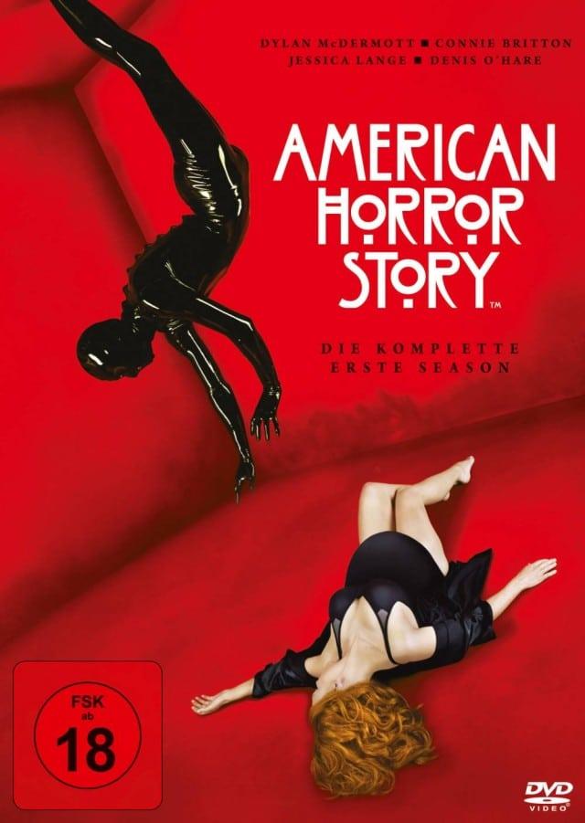 American Horror Story - Die dunkle Seite in dir - Staffel 1 - DVD Cover