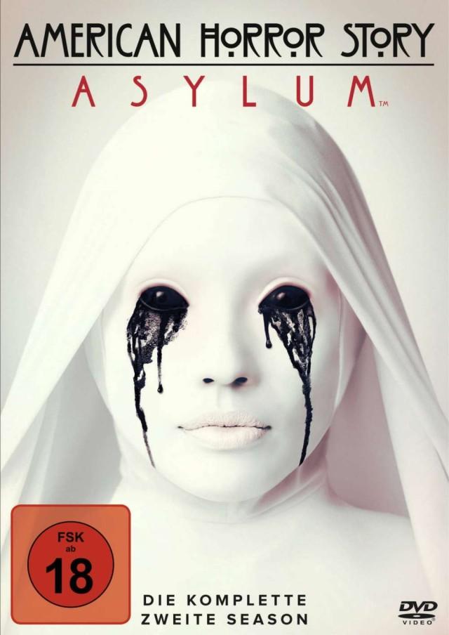 American Horror Story - Staffel 2 Asylum - DVD Cover FSK 18