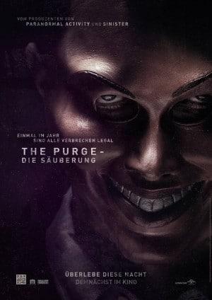 The Purge - Die Säuberung - Plakat deutscher Kinostart