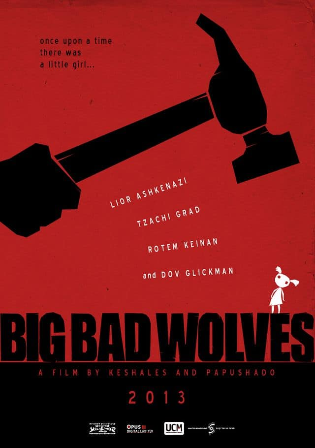 Big Bad Wolves - Internationales Teaser Poster