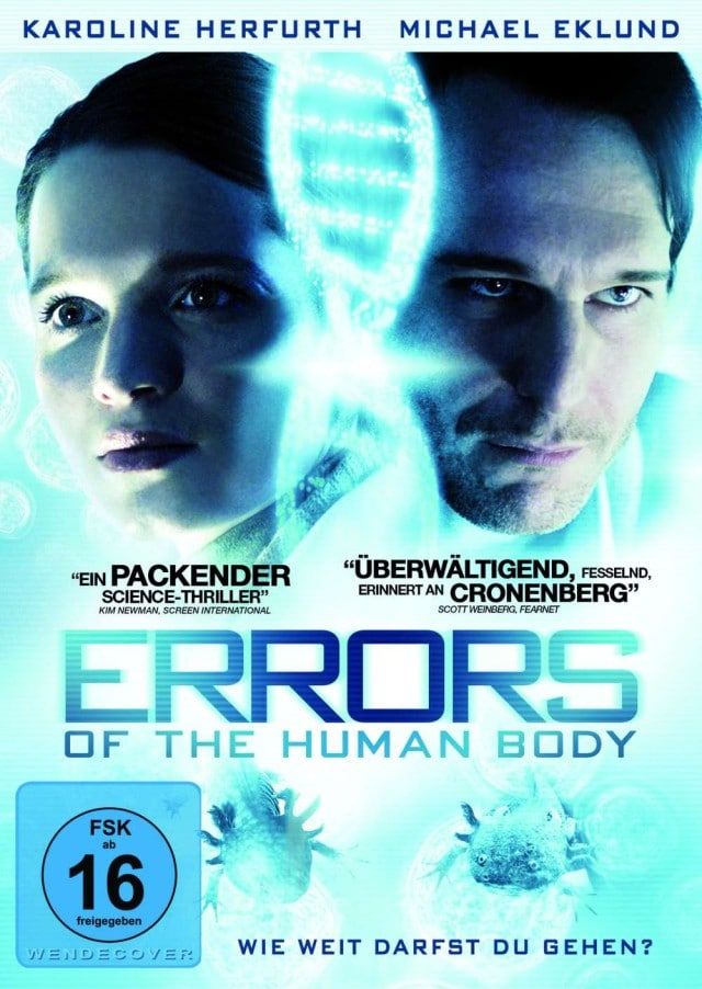 Errors of the Human Body - DVD Cover FSK 16