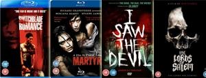 Horrorfilm Schnäppchen aus dem Vereinigten Königreich im Juni/Juli