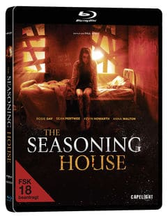 The Seasoning House - Blu-ray Vorabcover Case