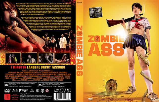 Zombie Ass - Limited Uncut Edition Cover