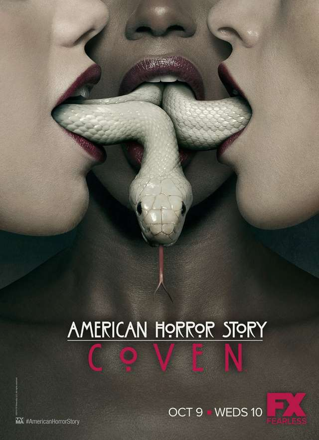 American Horror Story - Coven - Staffel 3 - Offizielles Teaser Poster