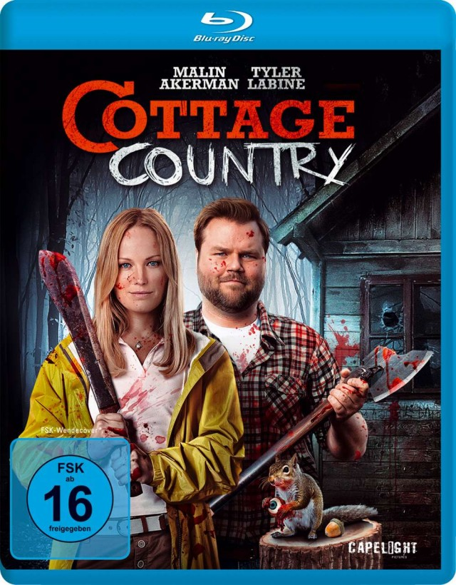 Cottage Country - Blu-ray Cover FSK 16