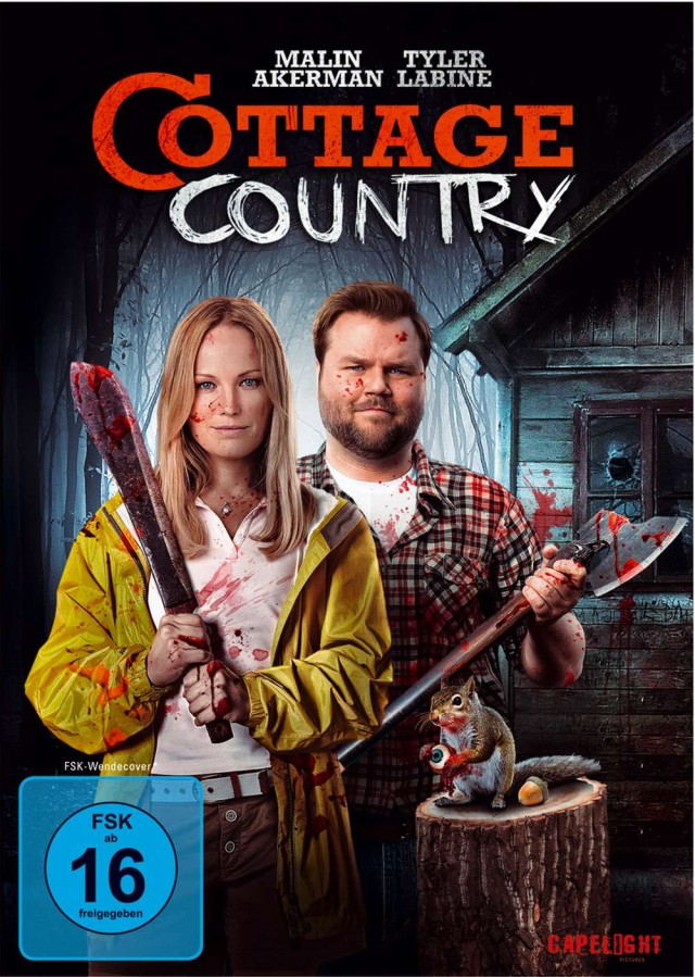 Cottage Country - DVD Cover FSK 16