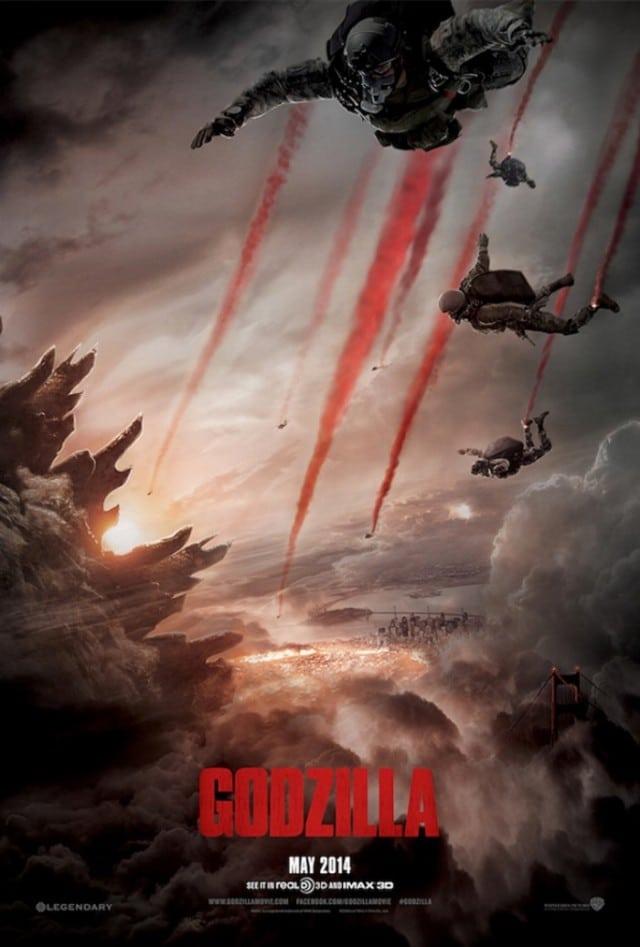 Godzilla - Mai 2014 Kinoposter