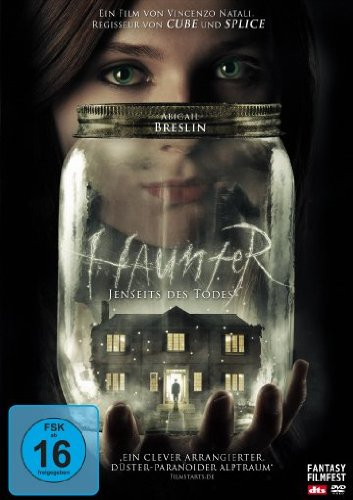 Haunter - Jenseits des Todes - DVD Cover FSK 16